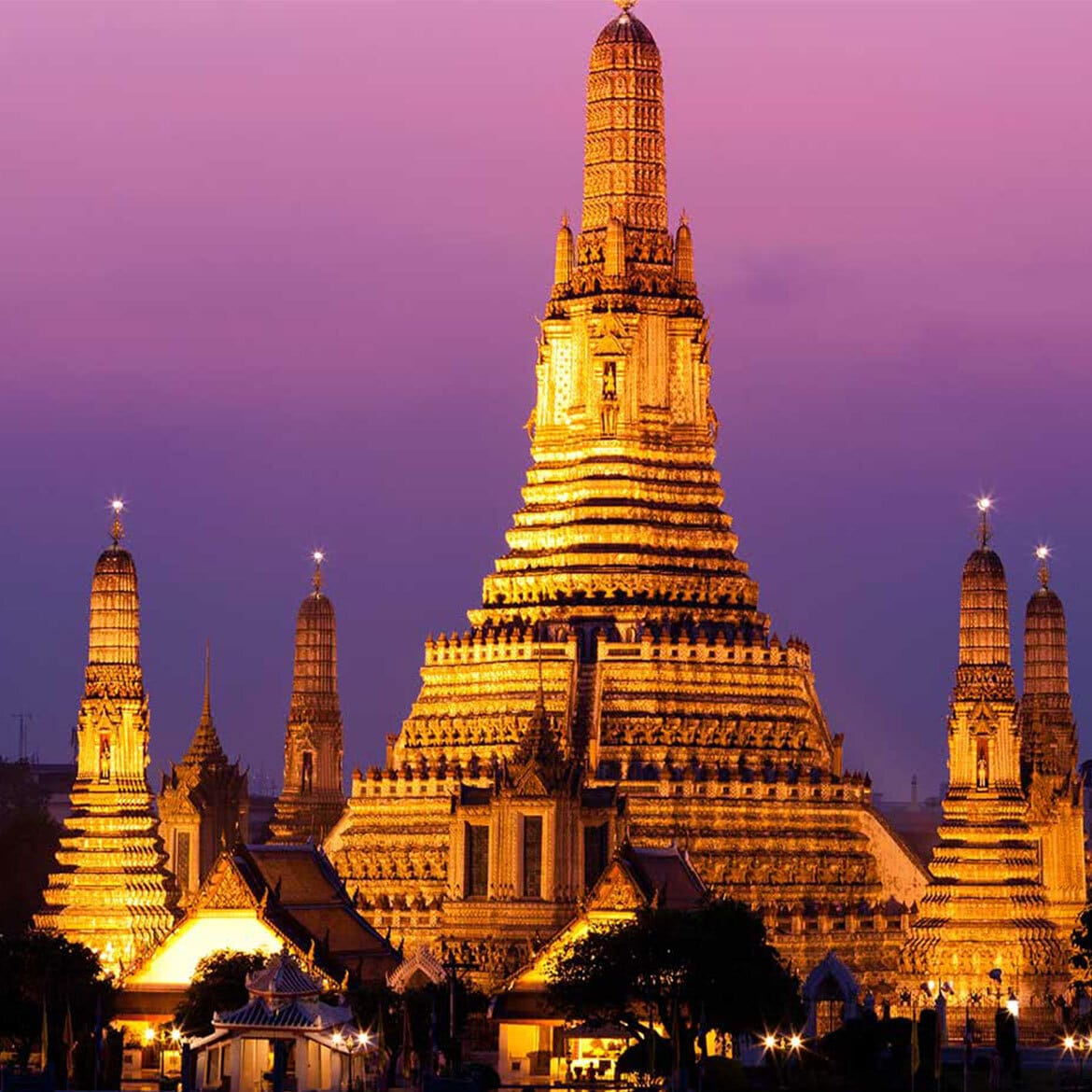 Classic Indochina: Thailand, Laos, Cambodia And Vietnam By Private Jet