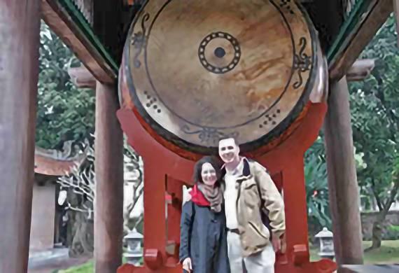 A couple from Jerusalem