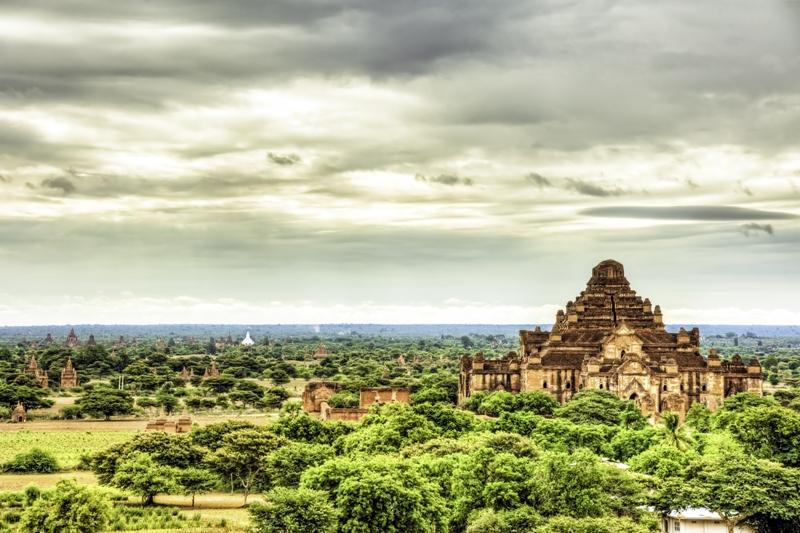The temples of Bagan, Myanmar