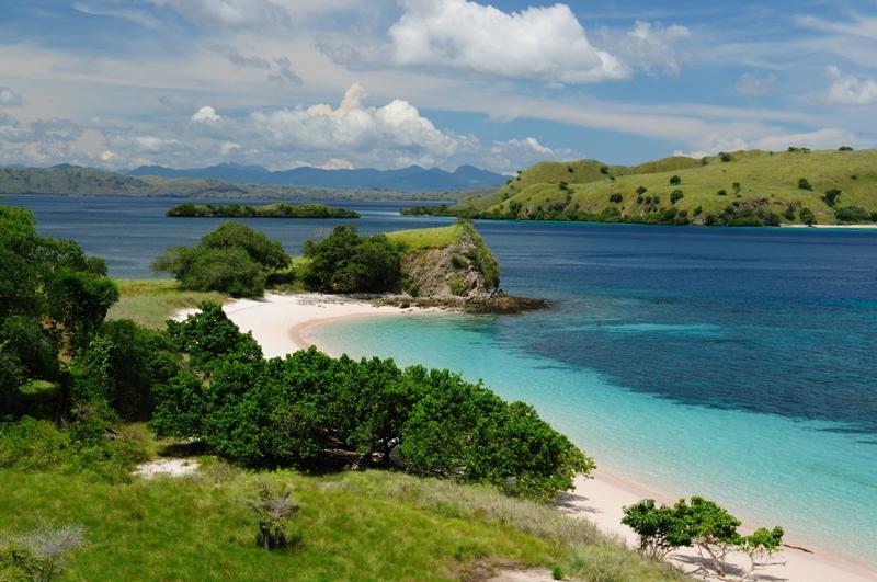 A typically gorgeous view of Komodo Island