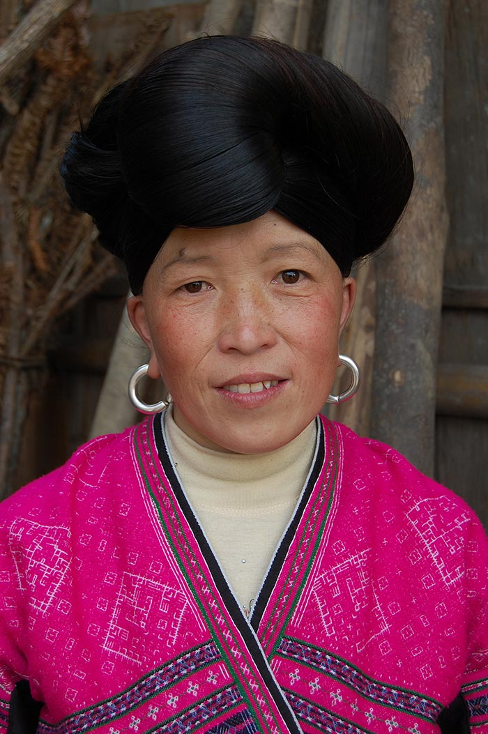 A Red Yao Woman