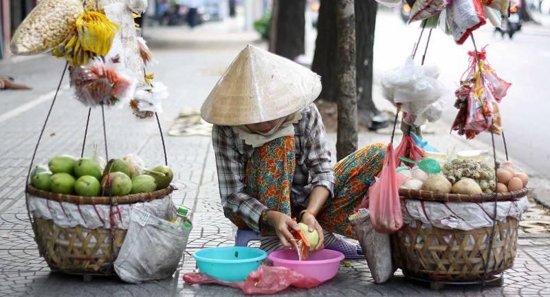 Saigon street scene