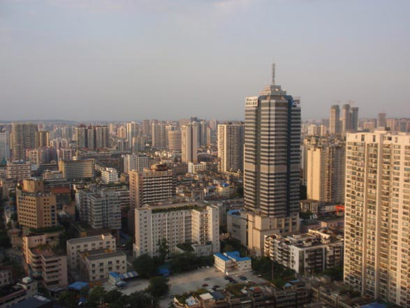 Chengdu City View.