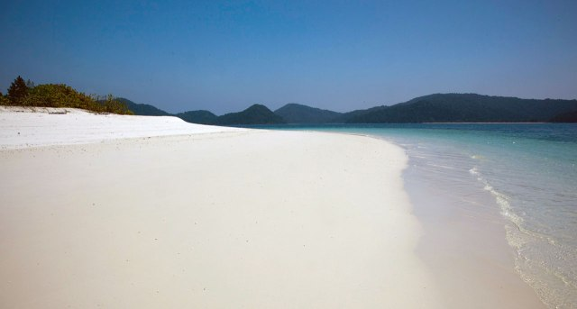One of hundreds of unspoilt beaches in Mergui