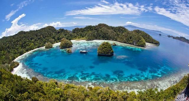 True tropical idyll in Raja Ampat
