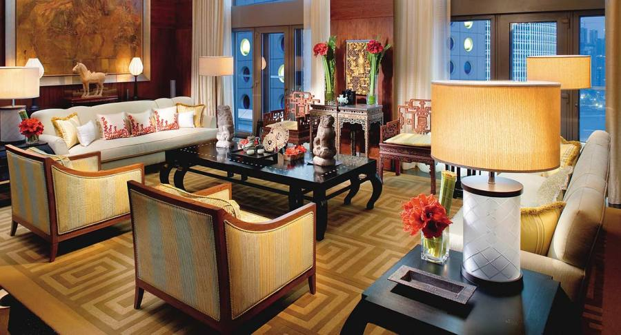 Asian style at the Mandarin Oriental