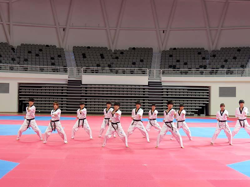 Taekwondo in Muju.