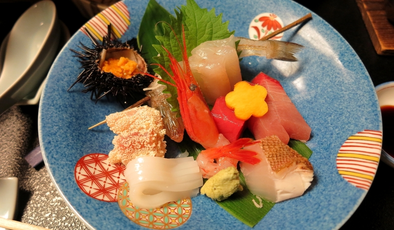 Japanese seafood, served with elegance & precision