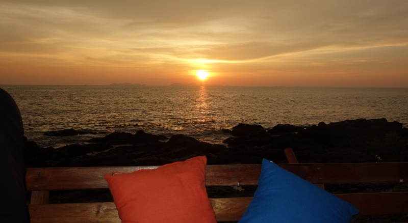 A beautiful Trang sunset