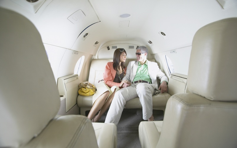The ultimate luxury honeymoon - by private jet