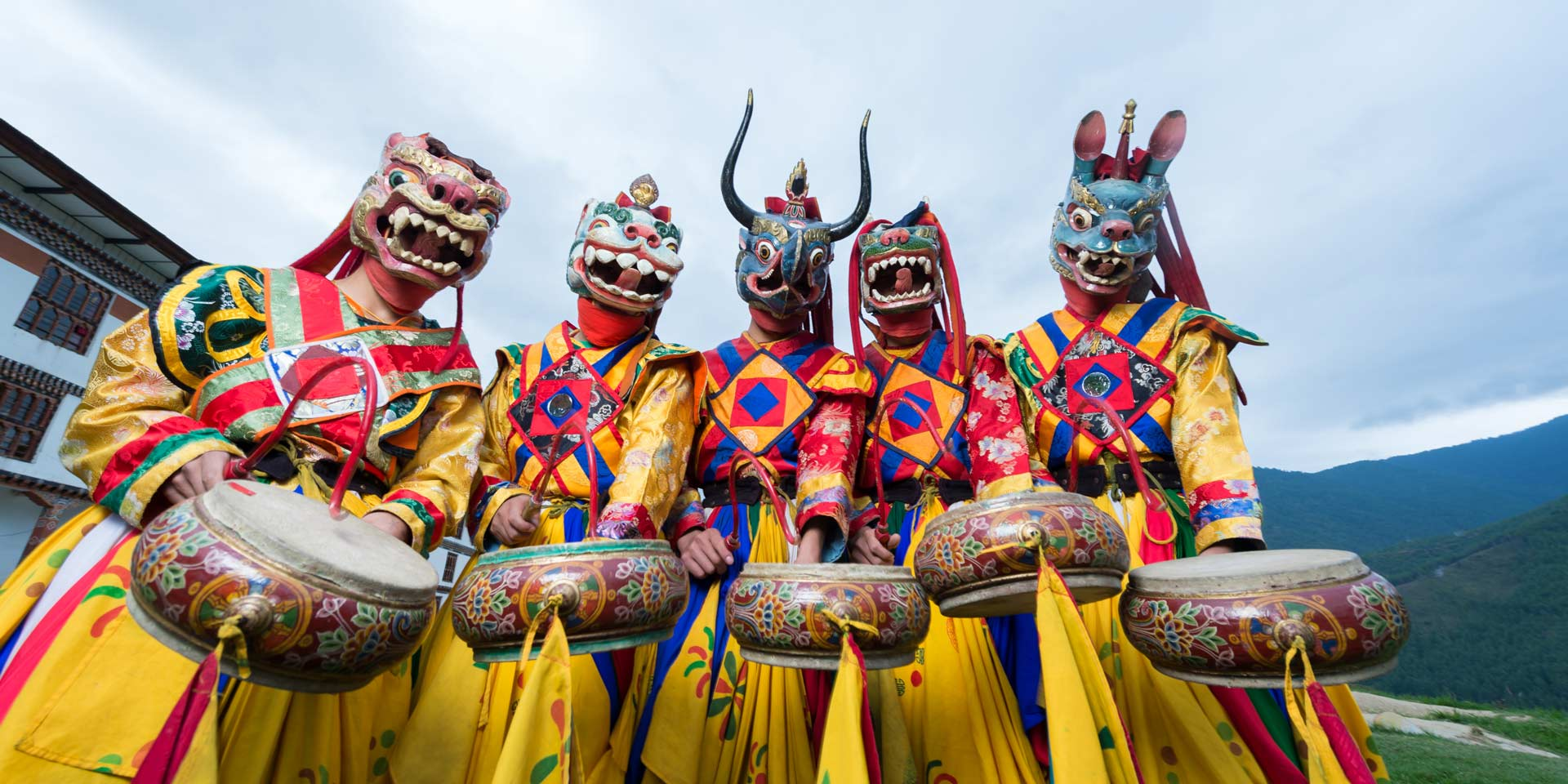 Summer Festivals of Bhutan - Travelogues from Remote Lands