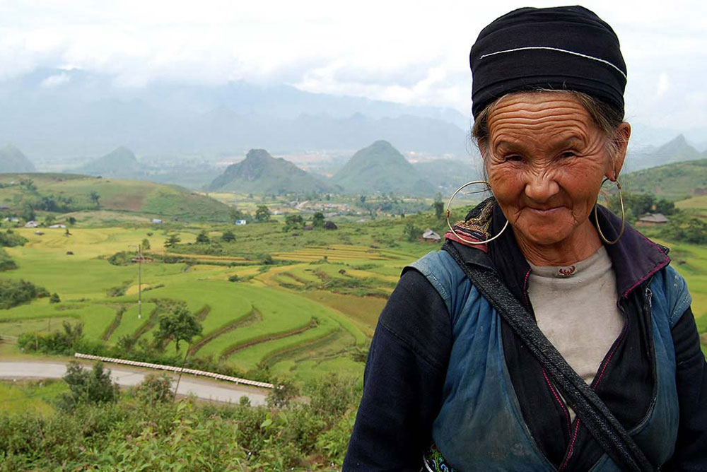 Tribes people in Lao Cai