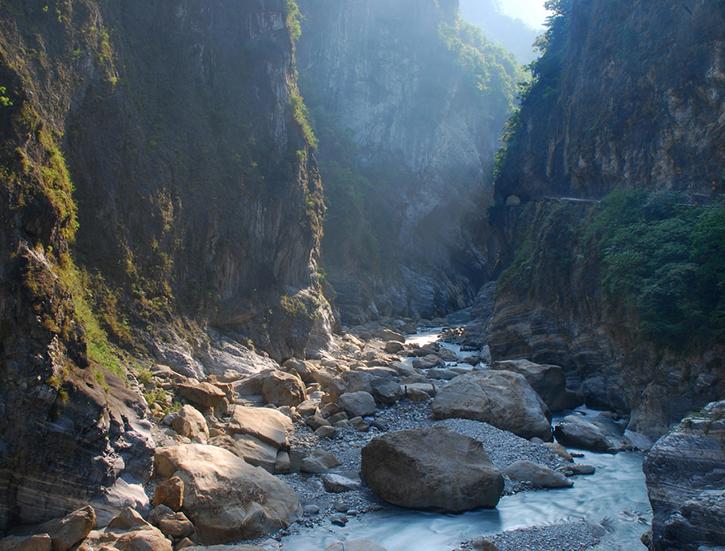 Taroko National Park in Taiwan