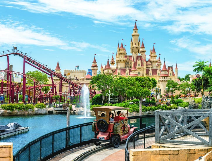 Universal Studios Singapore is a theme park located within Resorts World Sentosa on Sentosa Island, Singapore
