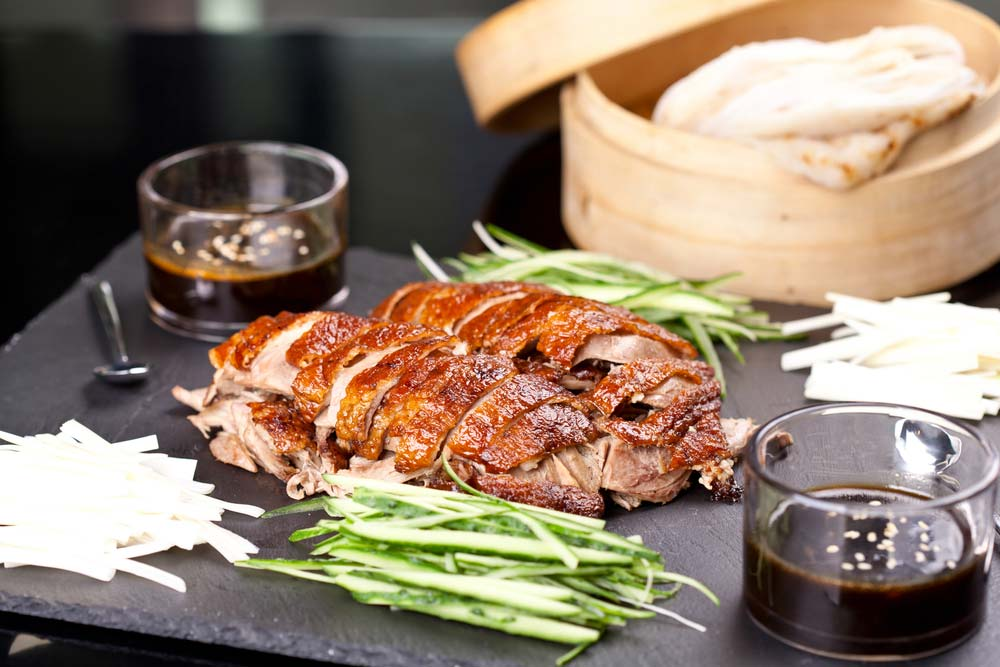 Peking duck -world's famous Shandong dish