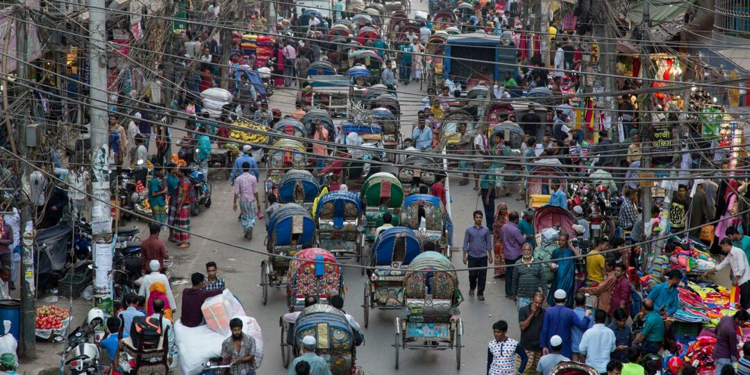 Dhaka and the Symmetry in the Swarm