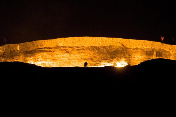 Knocking on Turkmenistan's Door to Hell