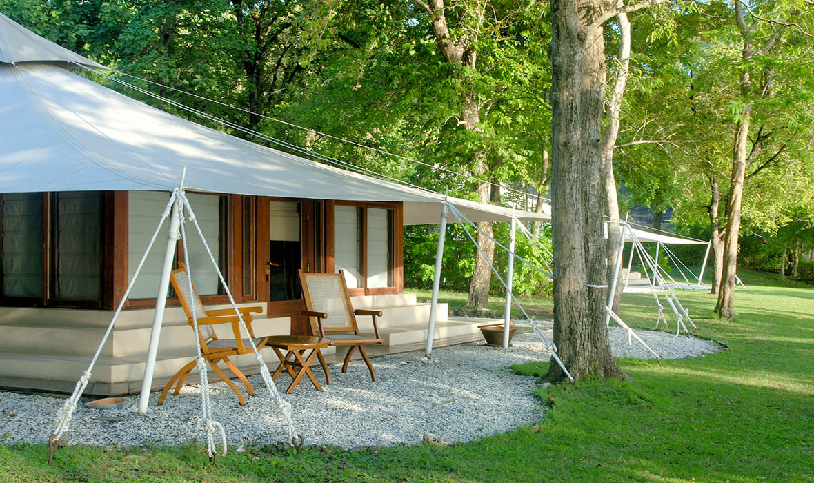 Amanwana Tent Exterior