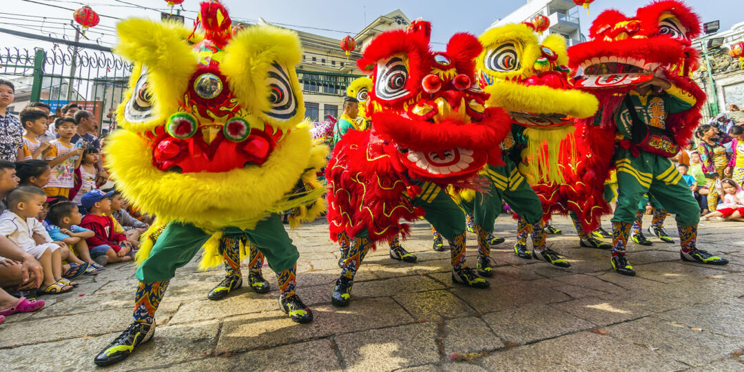 Chinatowns Around Asia Celebrate Chinese New Year