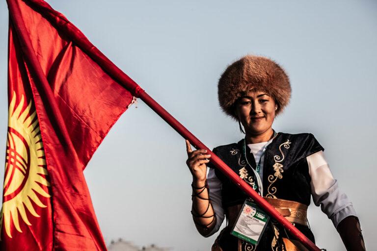 Kyrgyz-Flag