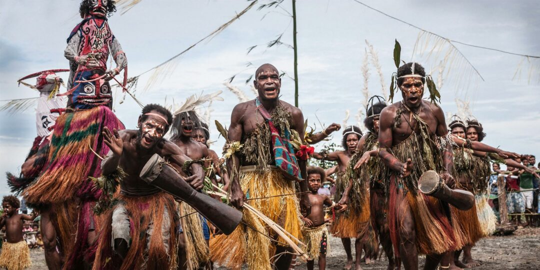 Inside the Gulf Mask Festival in Papua New Guinea