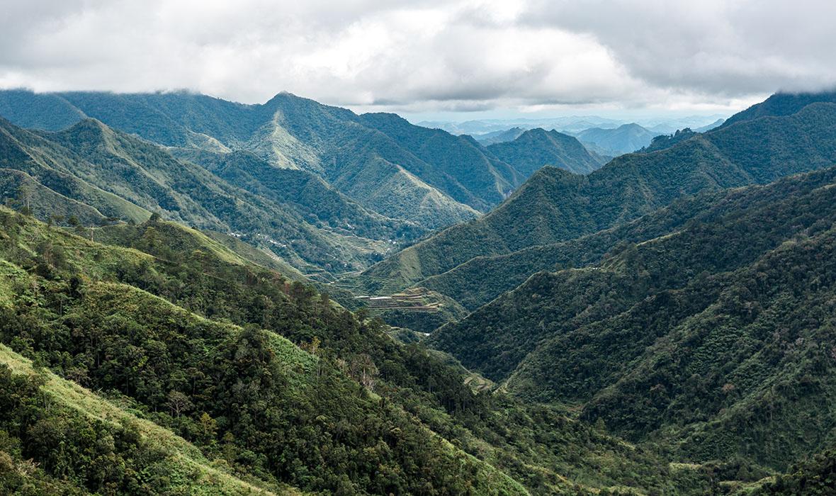Views on the trek to Batad 2