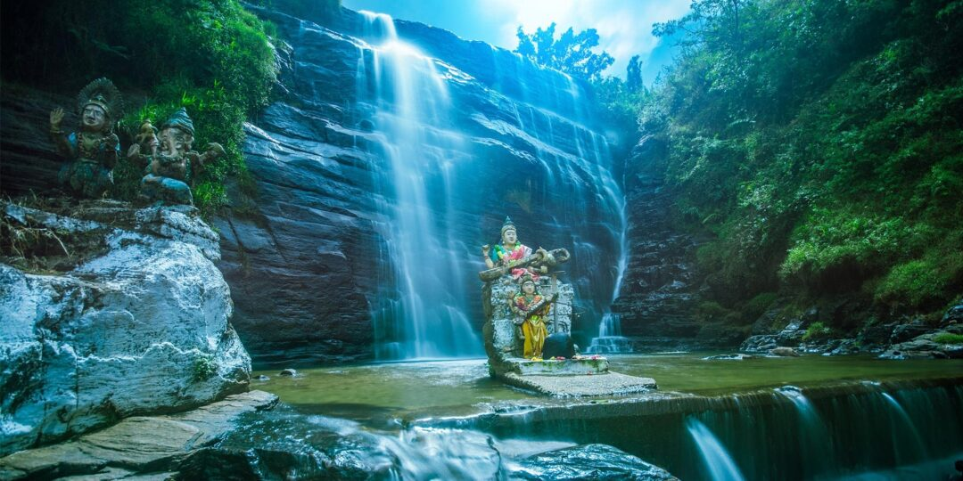 Chasing Waterfalls in the Central Highlands of Sri Lanka