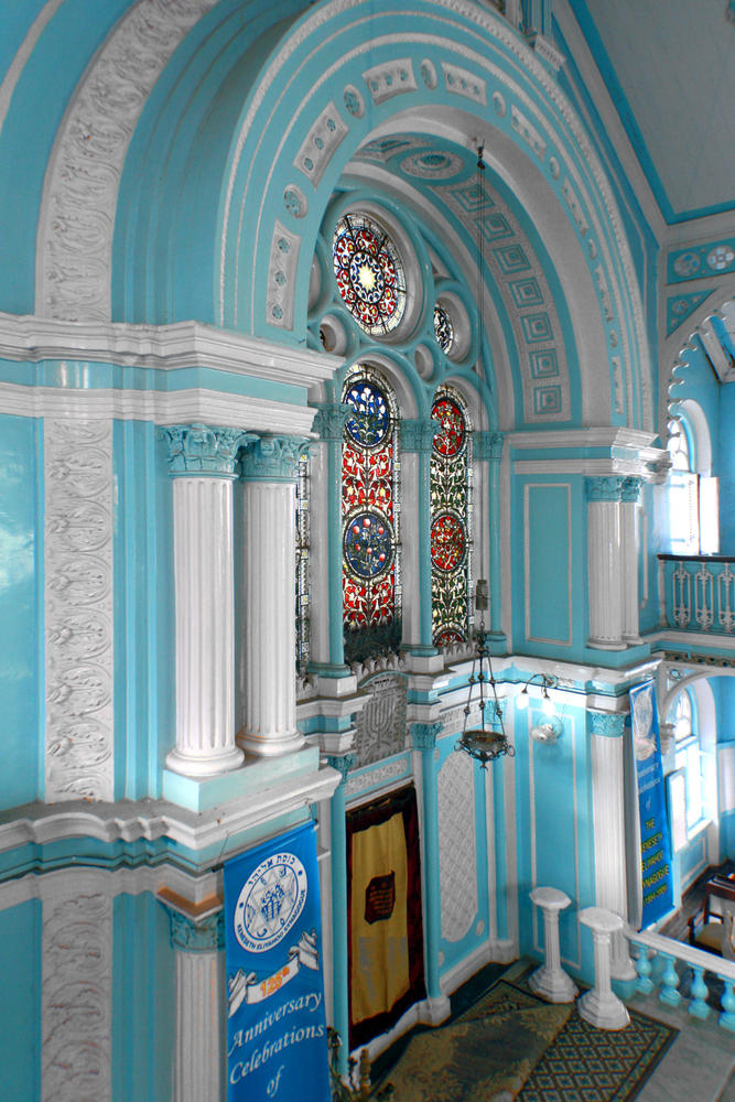 Interior built in the classical revival style
