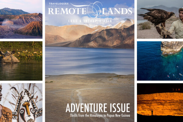 Adventure Issue: Rhinos, Himalayas, Eagle Hunters, and a Door to Hell