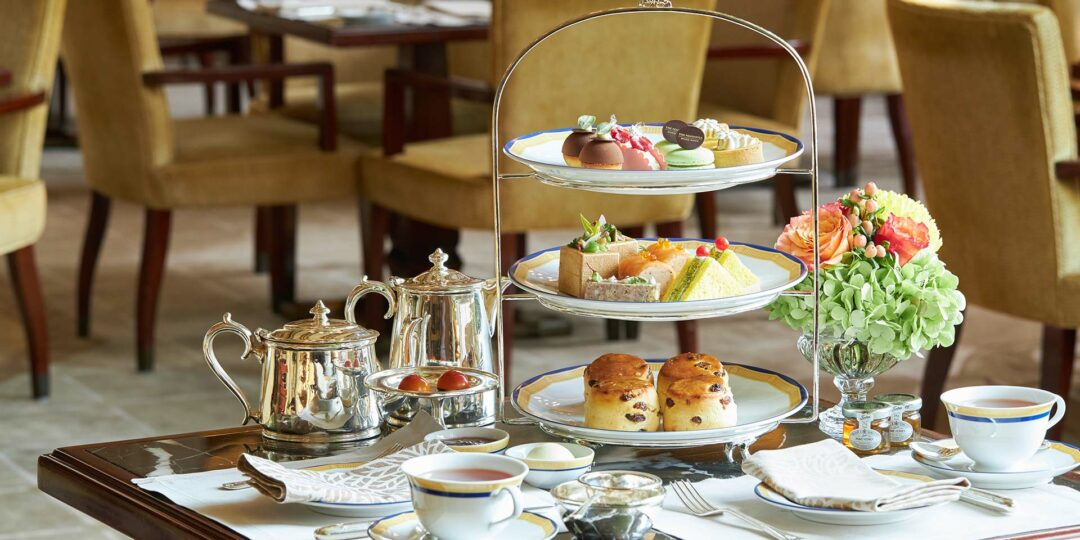 Scones and Elegance: Afternoon Tea at the Peninsula Hong Kong