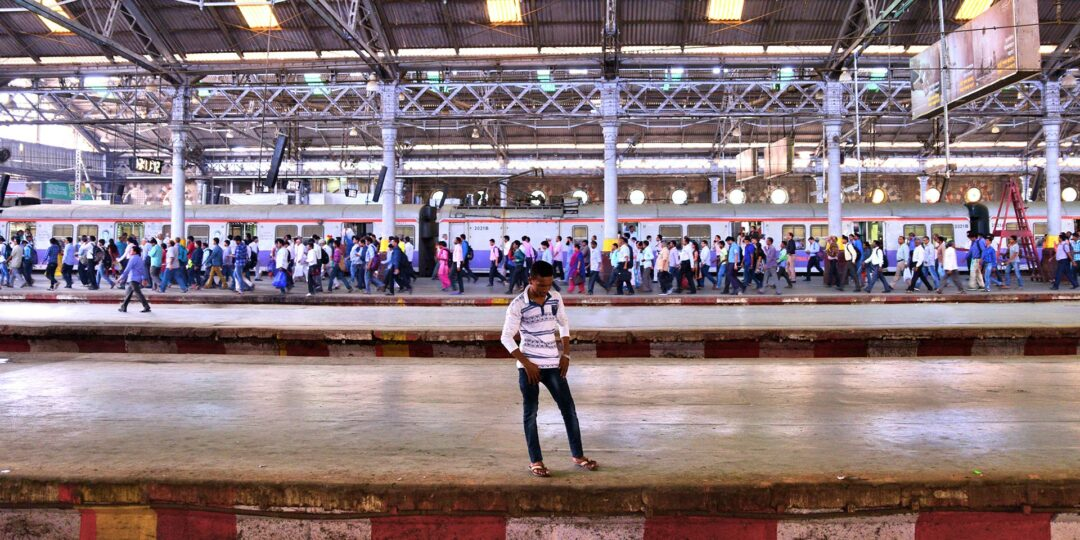 Beauty and Bedlam in Mumbai's Hectic Chhatrapati Shivaji Terminus