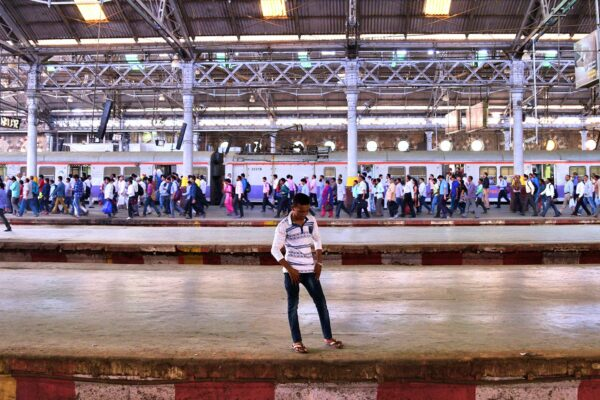Beauty and Bedlam in Mumbai's Hectic Chhatrapati Shivaji Terminus