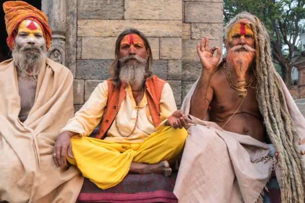 Lens on Sadhus from Kathmandu to Varanasi