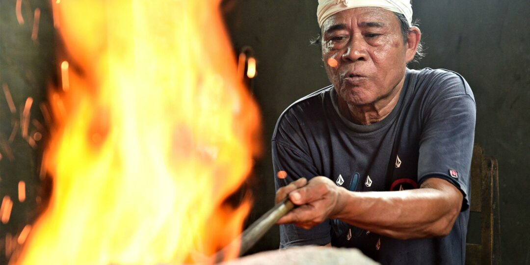 Keris: Smithing a Sacred Dagger in Bali