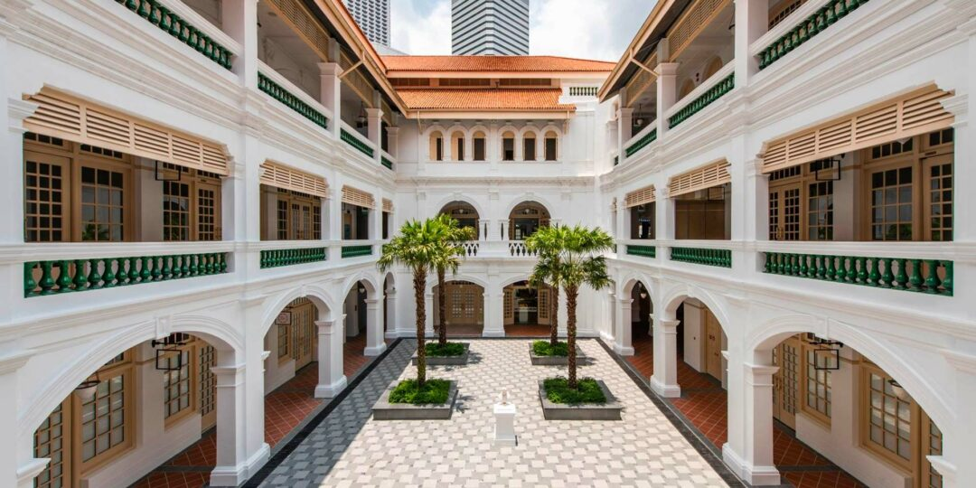 The Freshly Refurbished Raffles Singapore Reopens