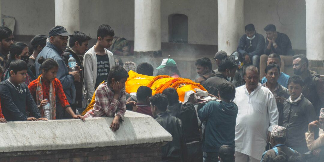 The Rites of Cremation at Kathmandu's Pashupatinath Temple