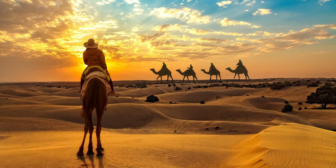India Unexplored: Desert at Jaisalmer