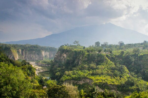 West Sumatra: active volcanoes and vanishing species