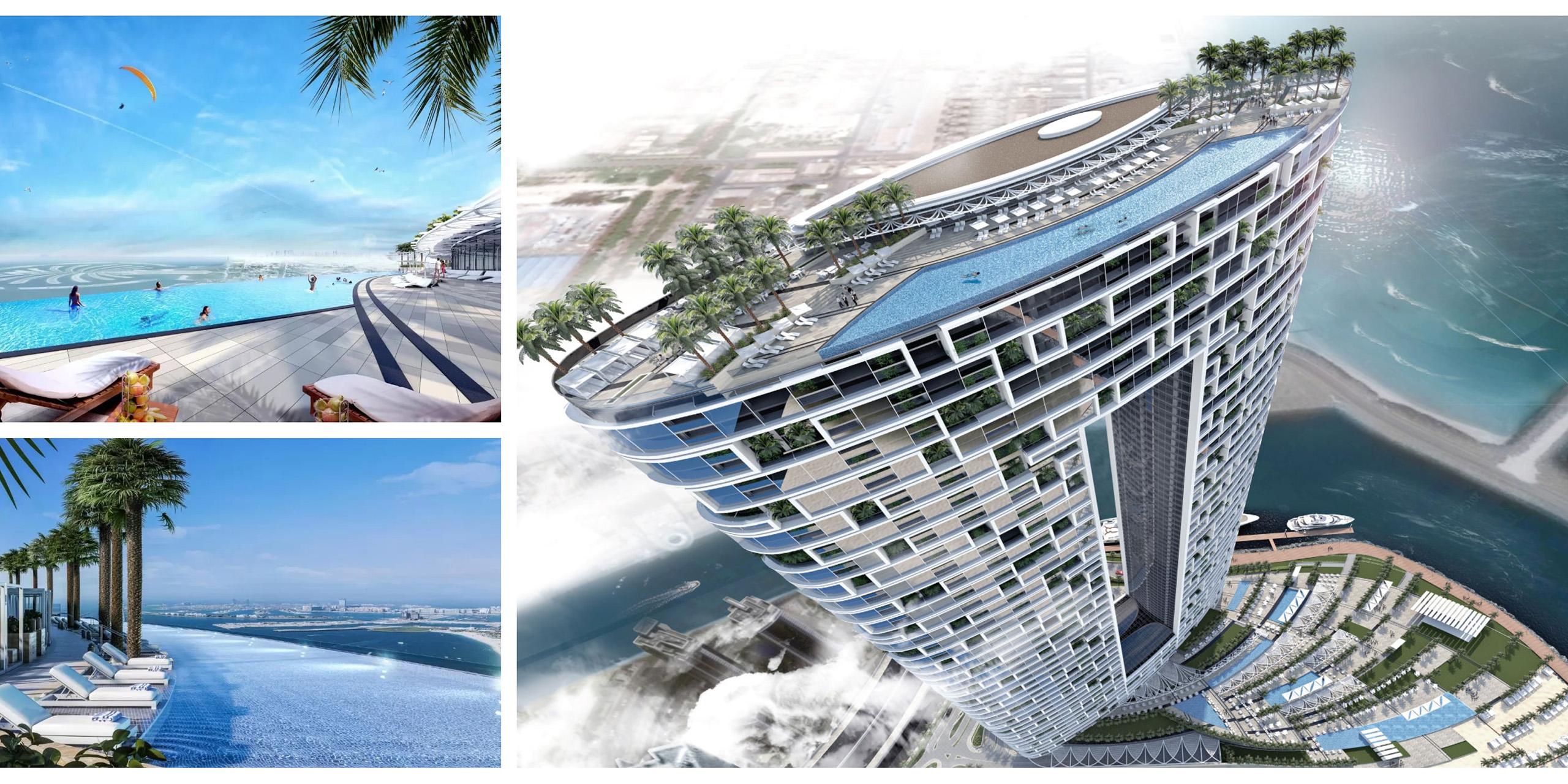 Address Beach Resort pool