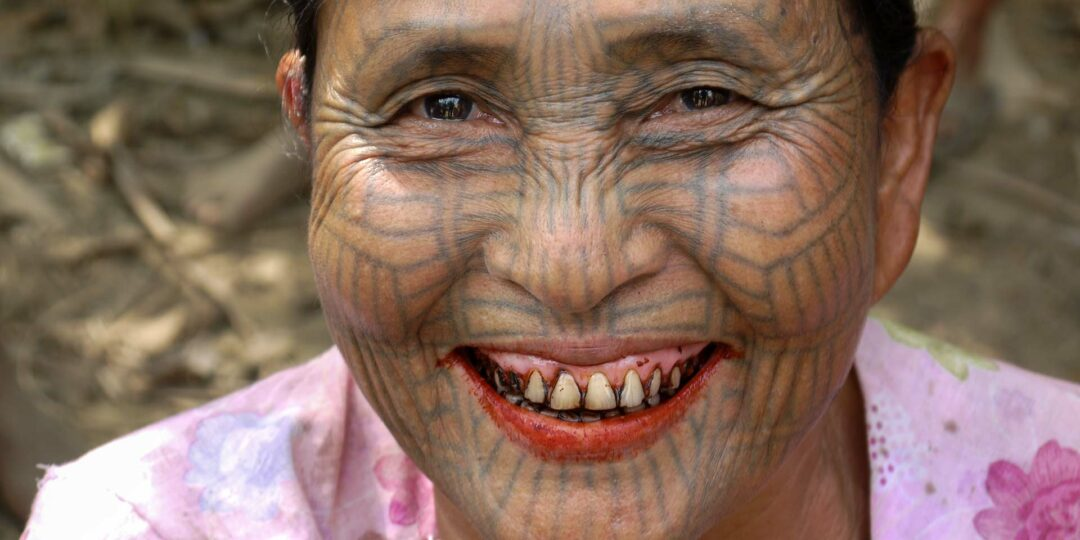 Facial Tattoos of Myanmar's Chin Tribe