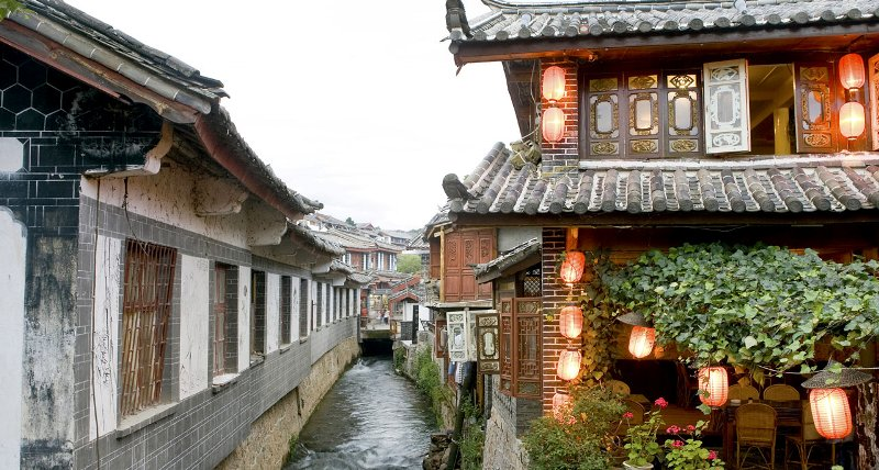 Historic old town of Lijiang