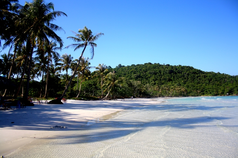 Tropical idyll at Bai Sao beach, Phu Quoc