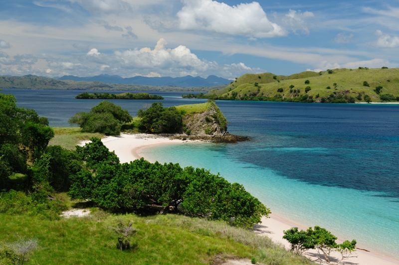 A typically gorgeous view of Komodo Island