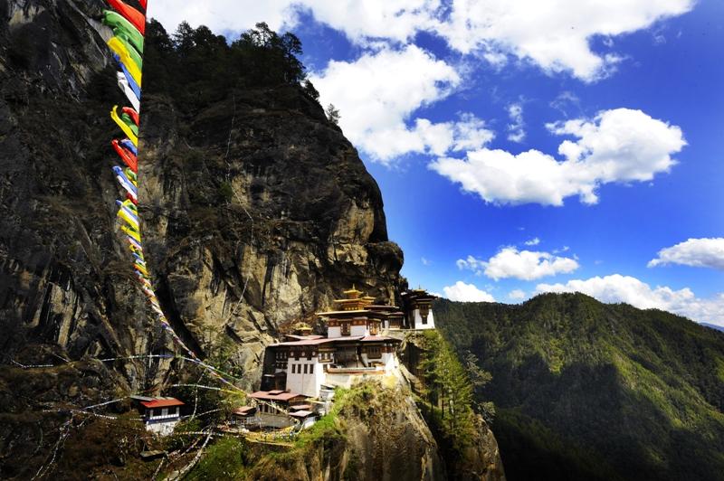 Bhutan's iconic Tiger's Nest monastery