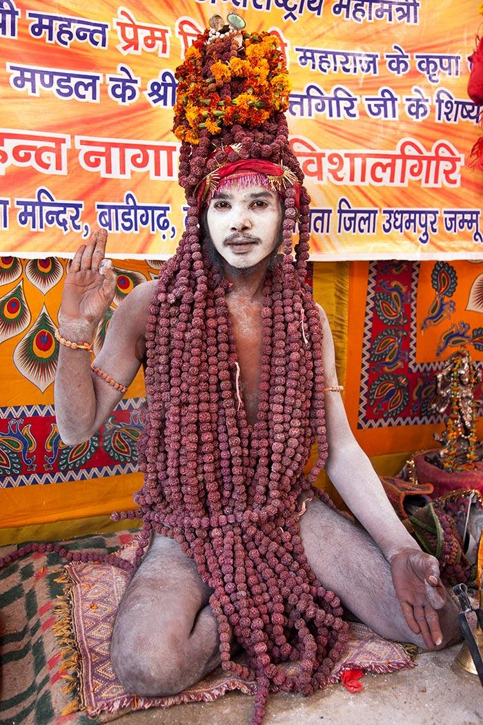 Naga Baba at the Kumbh