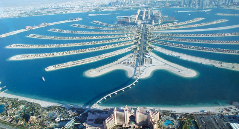 Seaplanes offer amazing views of Dubai