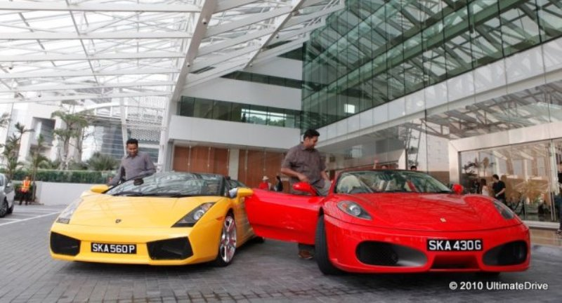 Ultimate Drive's supercars