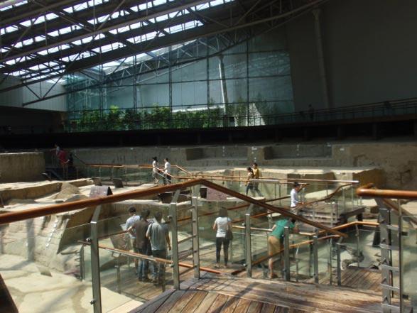 Chengdu Museum interior