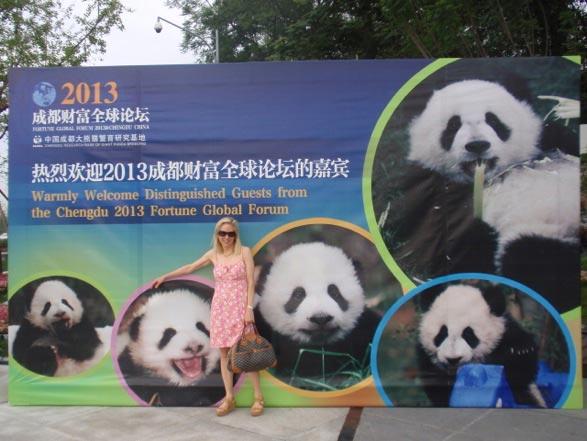 Catherine Heald Chengdu pandas