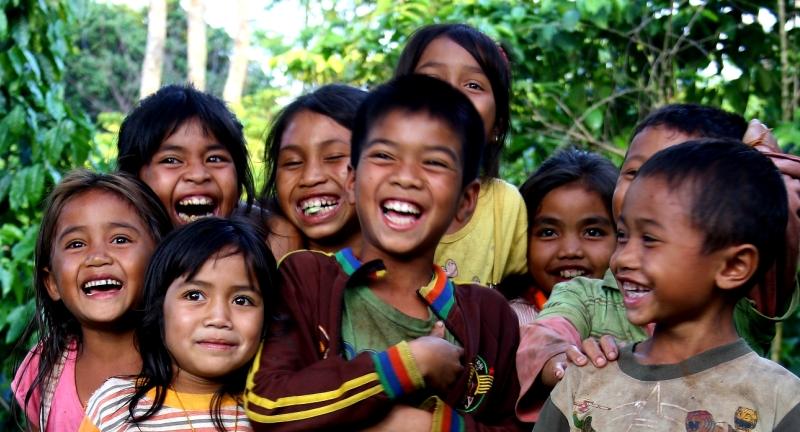 Bolaven village kids